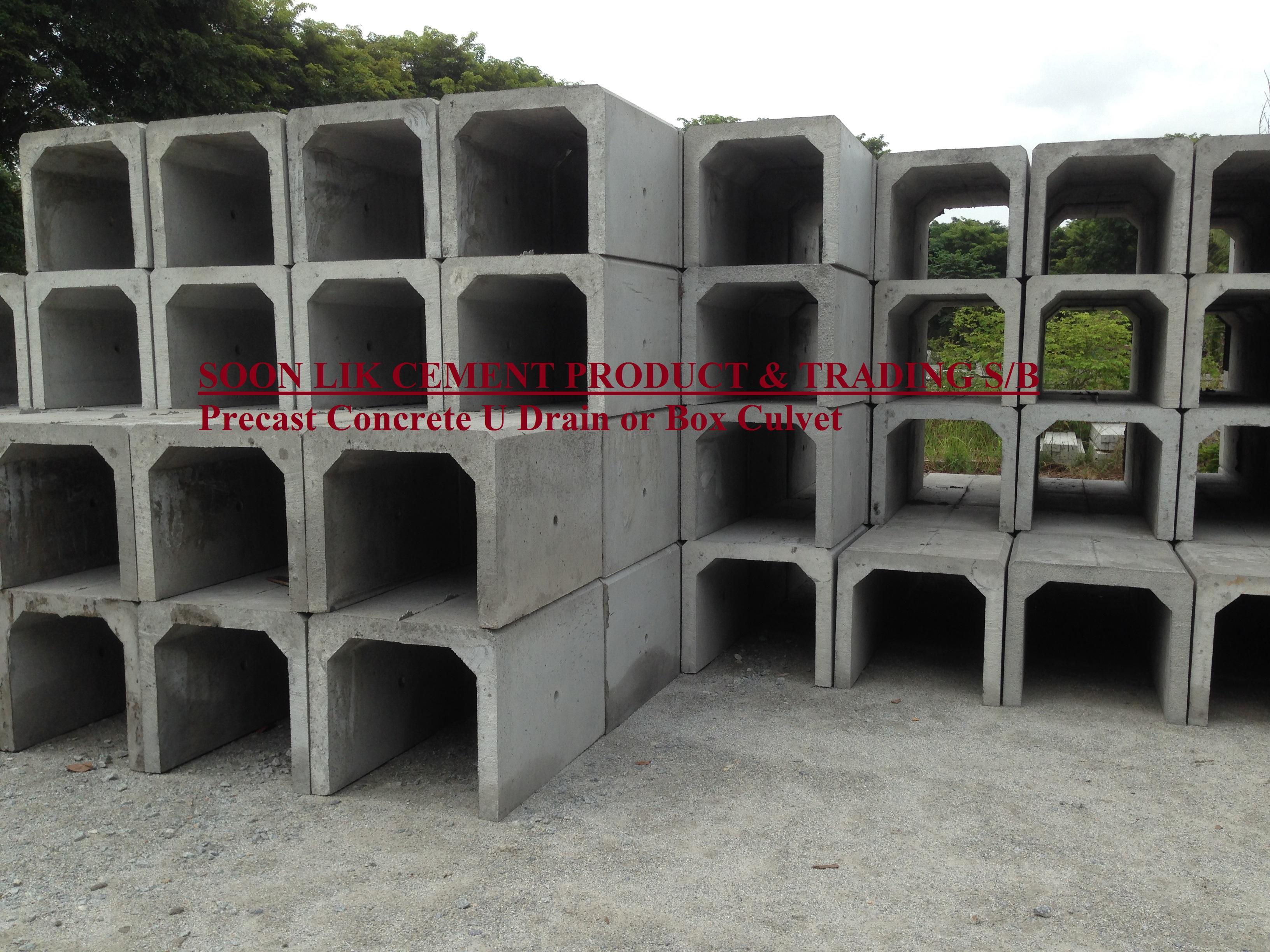 u drain/box culvert
